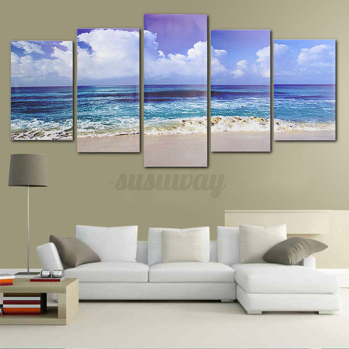 framed encadr moderne abstraite peinture l 39 huile tableau sur toile mural d co ebay. Black Bedroom Furniture Sets. Home Design Ideas
