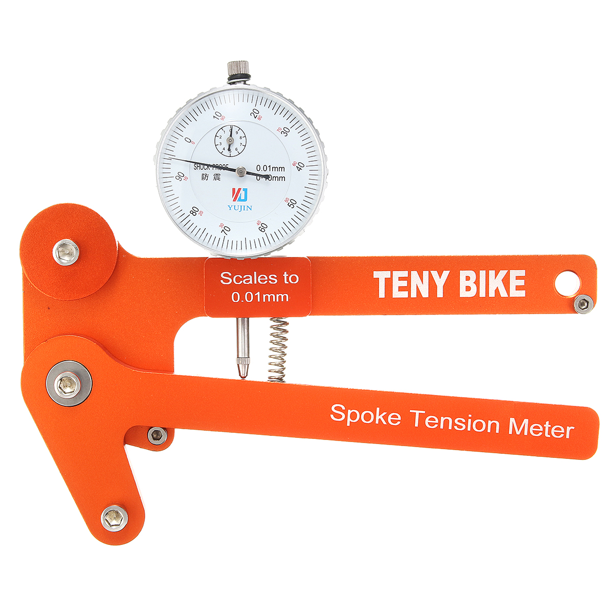 Bike Bicycle Cycling Spoke Tension Meter Tensiometer Builders Wheel Builders Tensiometer Repair Tool ce5d39