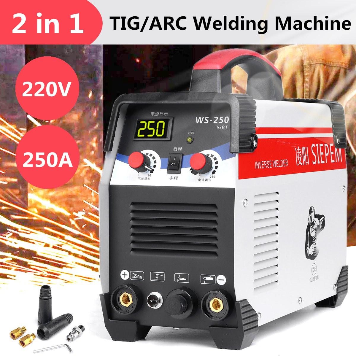 220V 250A DC IGBT MMA ARC Welder Welding Machine Inverter High Quality!