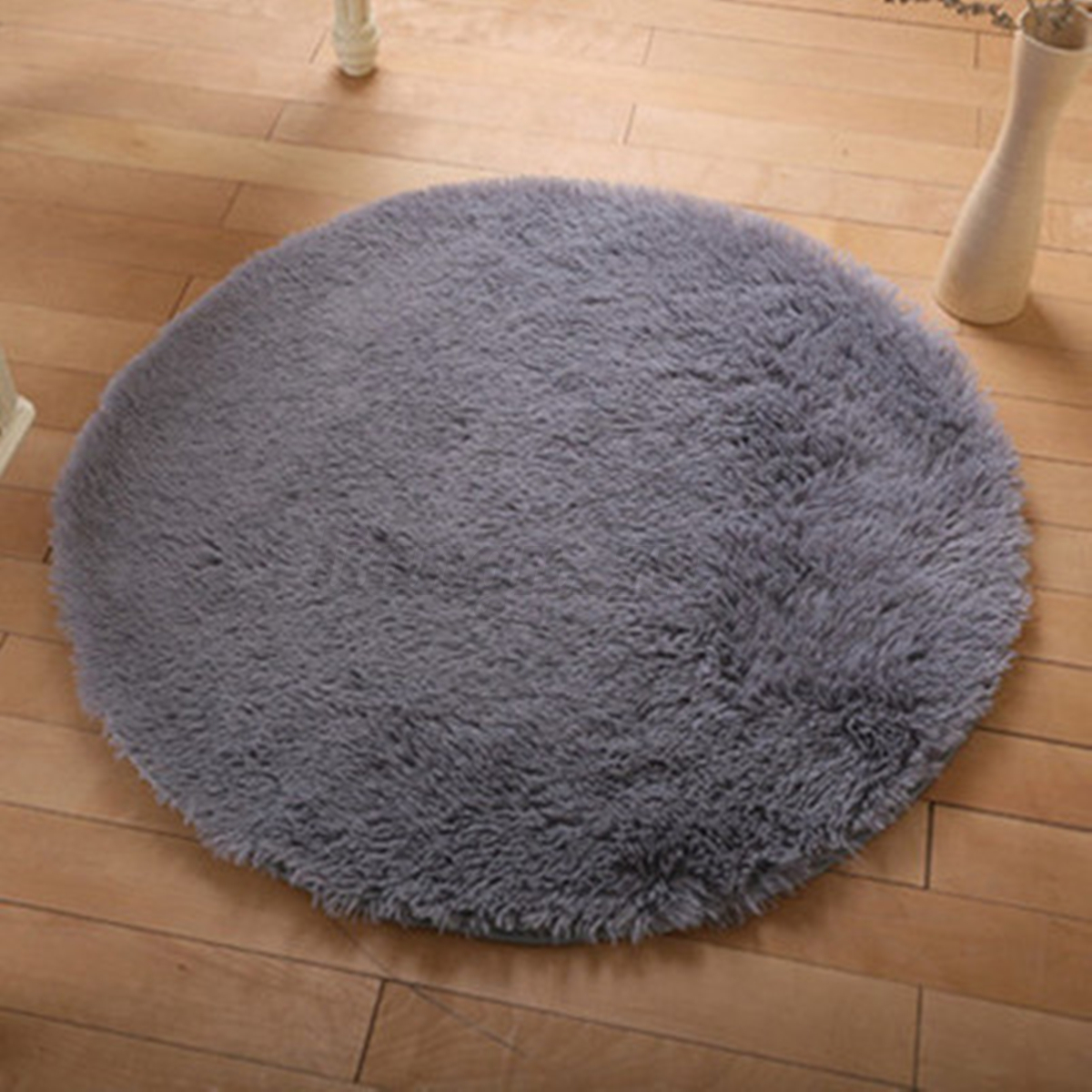 0.4-2M Fluffy Rugs Anti-Skid Shaggy Area Rug Home Bedroom