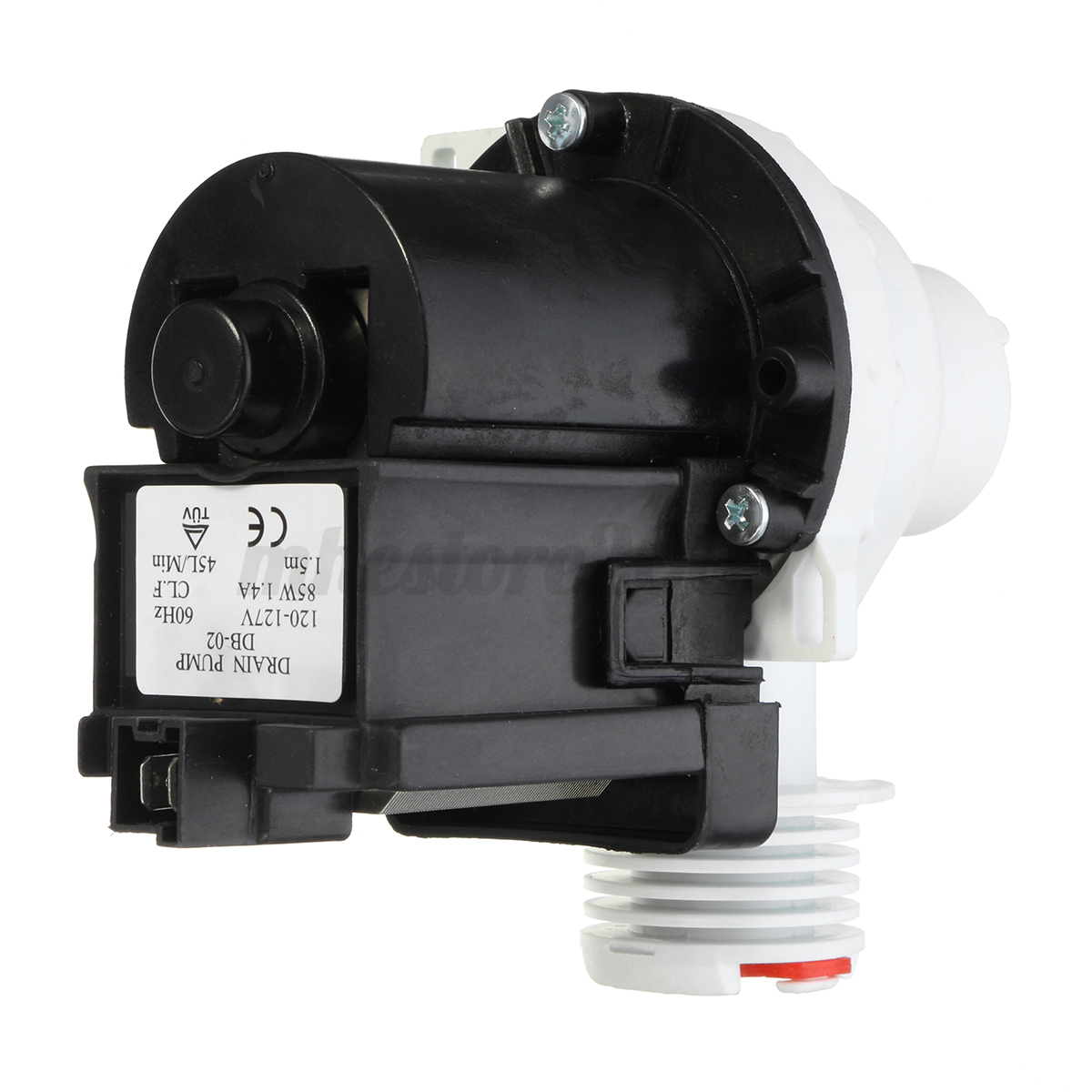 Replacement washer drain water pump motor 137108100 for for How to test a washer drain pump motor