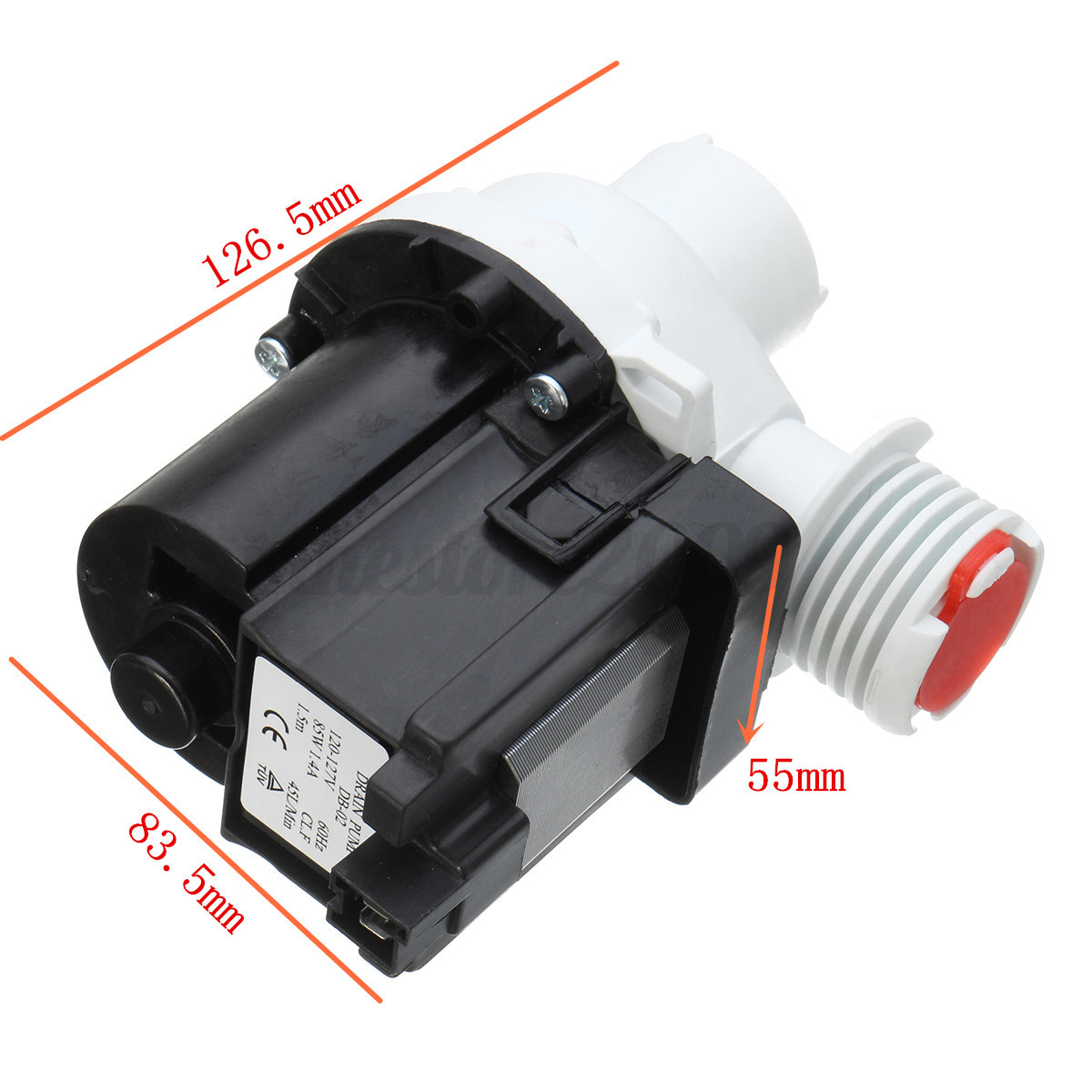 Replacement Washer Drain Water Pump Motor 137108100 For