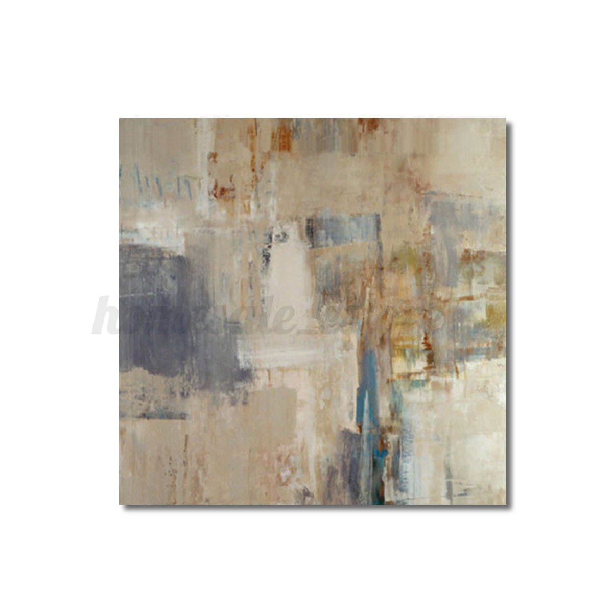 Modern Abstract Oil Painting Canvas Wall Art Poster Print