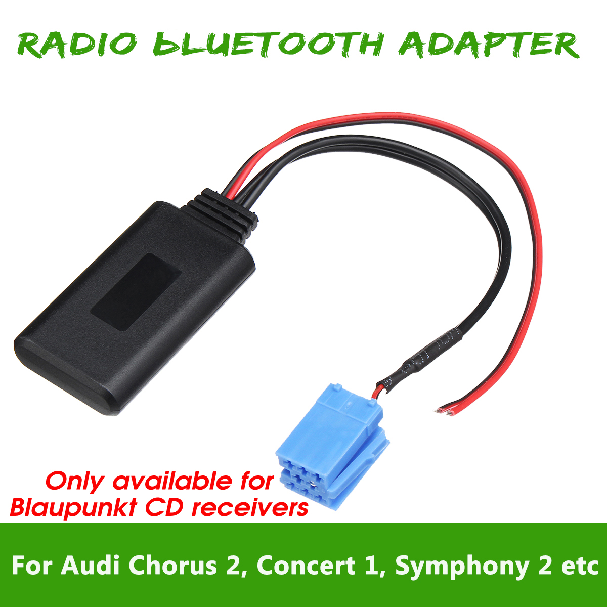 Details about bluetooth Radio Adapter for AUDI Chorus 2 Symphony 1 For  Blaupunkt CD receivers