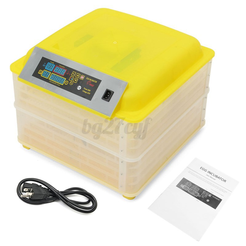 112-Egg-Incubator-Fully-Automatic-Digital-LED-Turning-Chicken-Duck-Eggs-Poultry