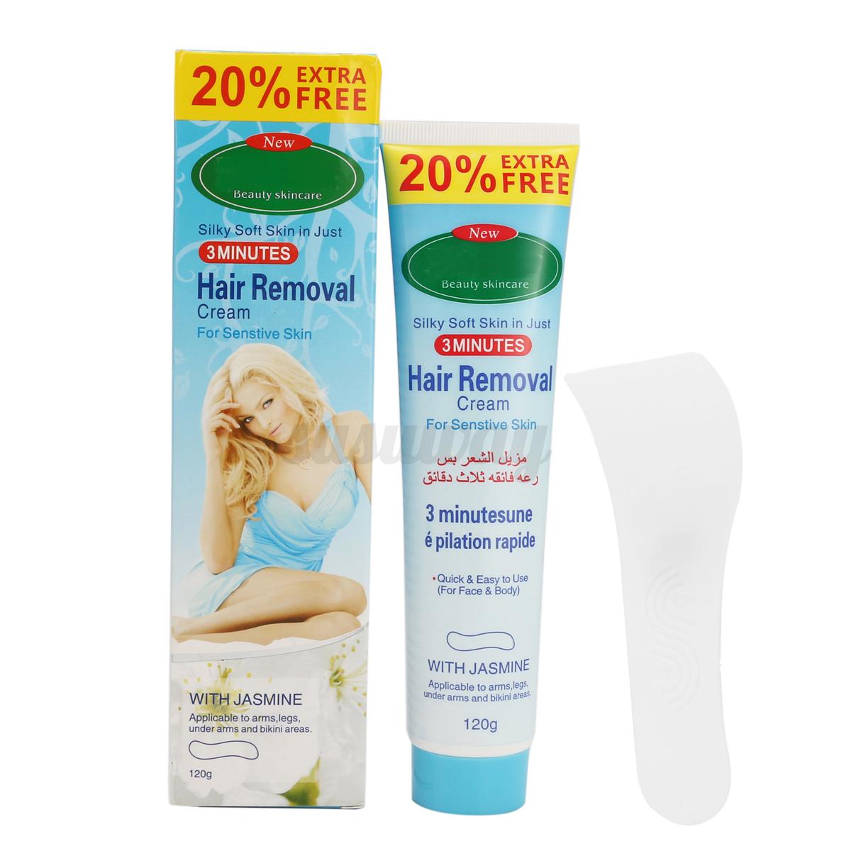 3x Unisex Herbal Permanent Hair Removal Cream Stop Hair