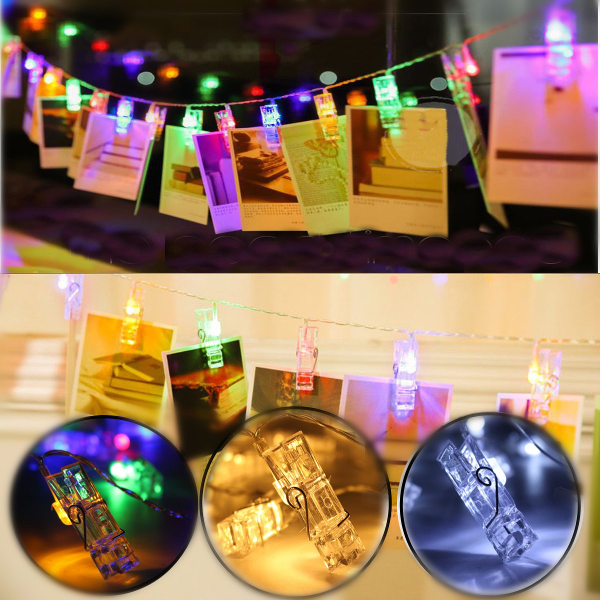 100 fairy lights ebay warm cool white rgb 2m 3m 10m led cop