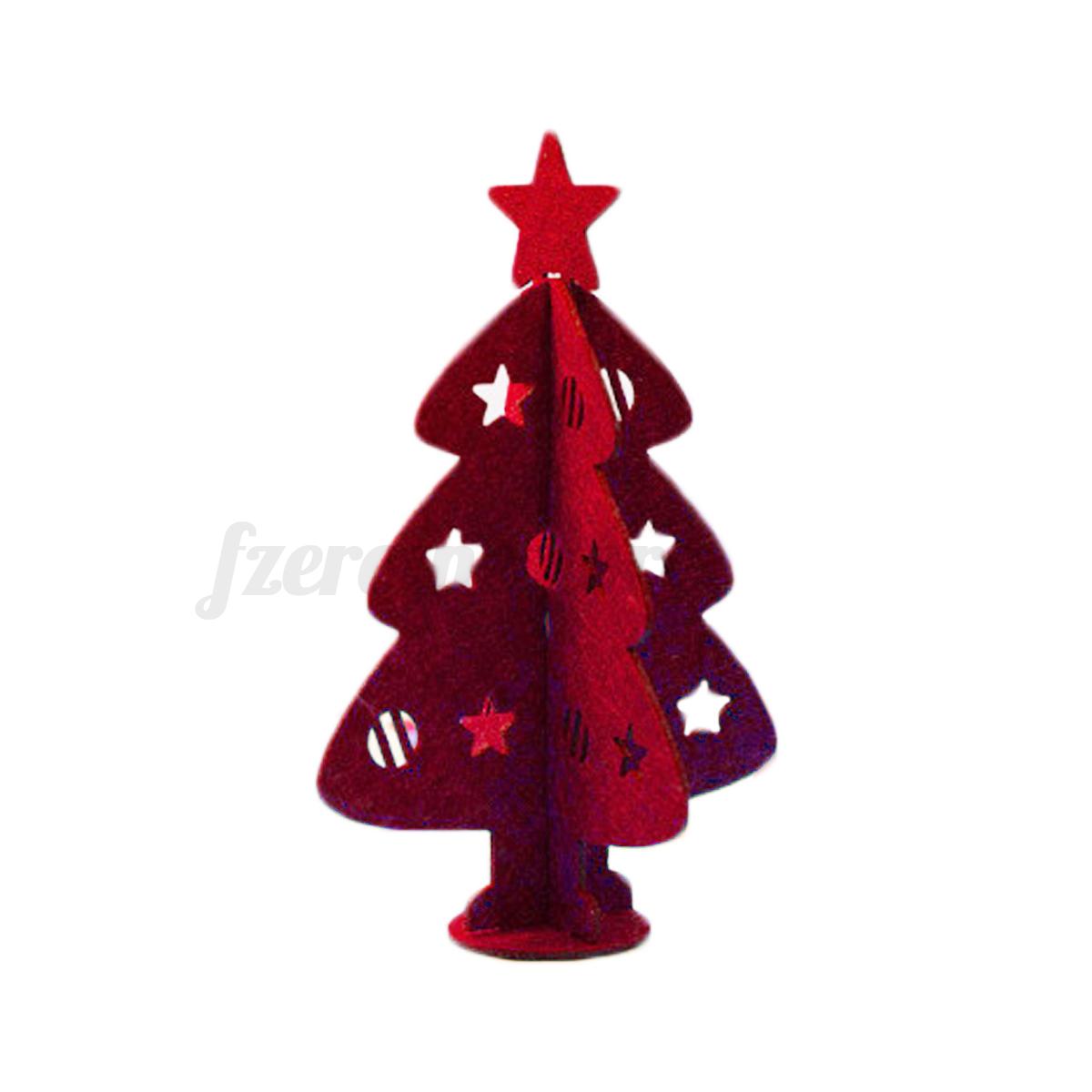 mini christmas tree xmas festival party ornaments decor home office