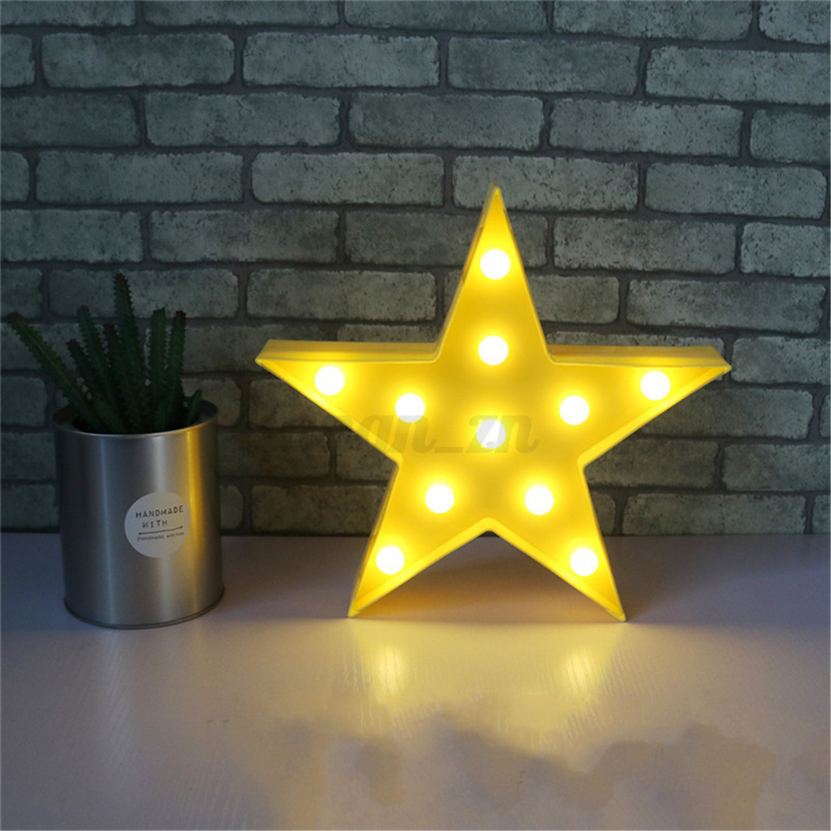 3D Star Cloud LED Night Light Baby Kids Bedroom Lamp Home Wall Desk ...