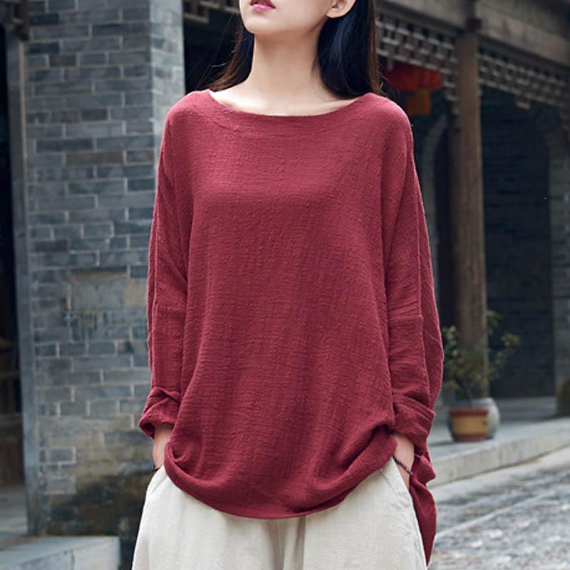 ZANZEA-AU-8-24-Women-Casual-Tunic-Cotton-Blouse-T-Shirt-Tee-Loose-Plus-Size-Top