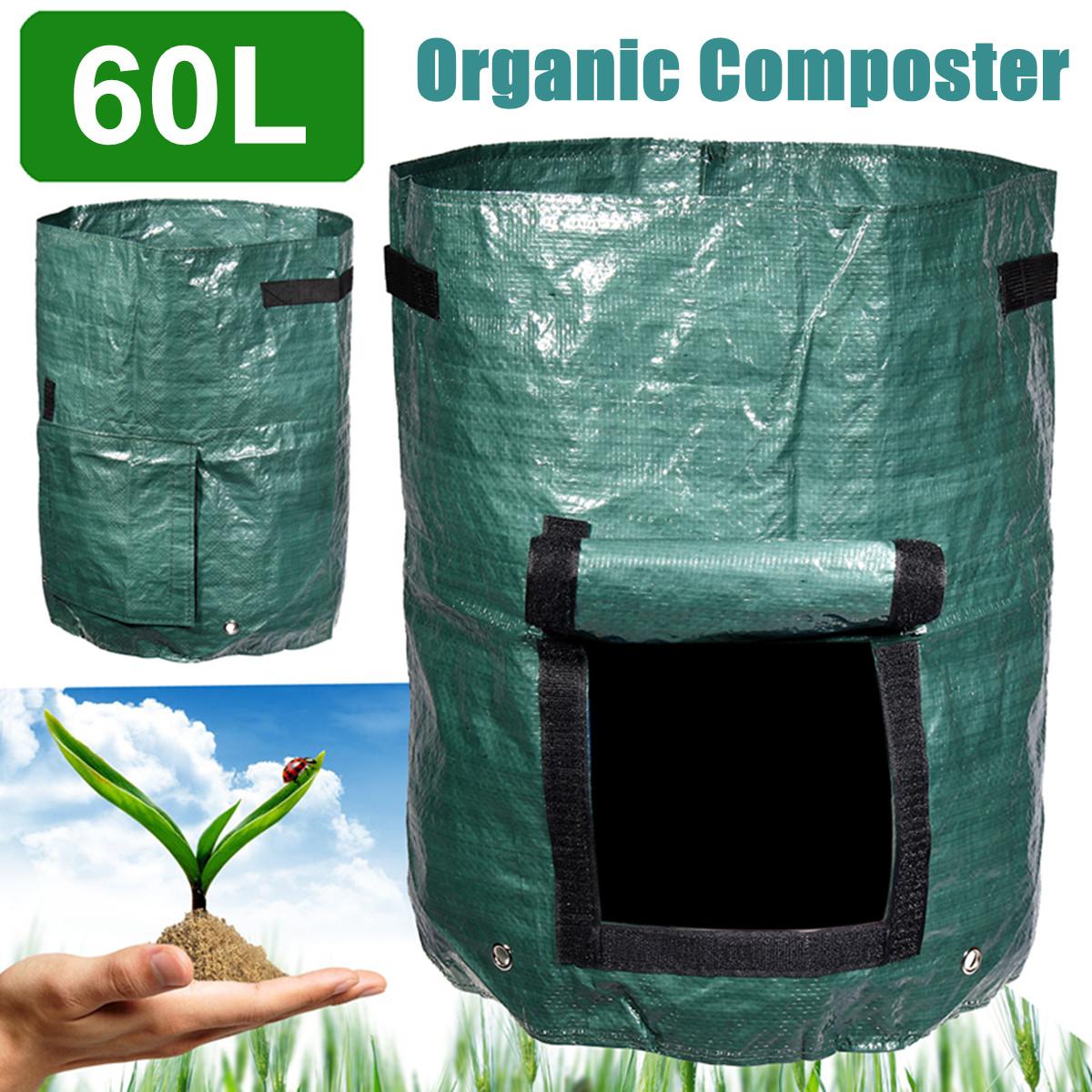 60L Compost Bin Compostable Bag Garden Kitchen Organic Waste ...