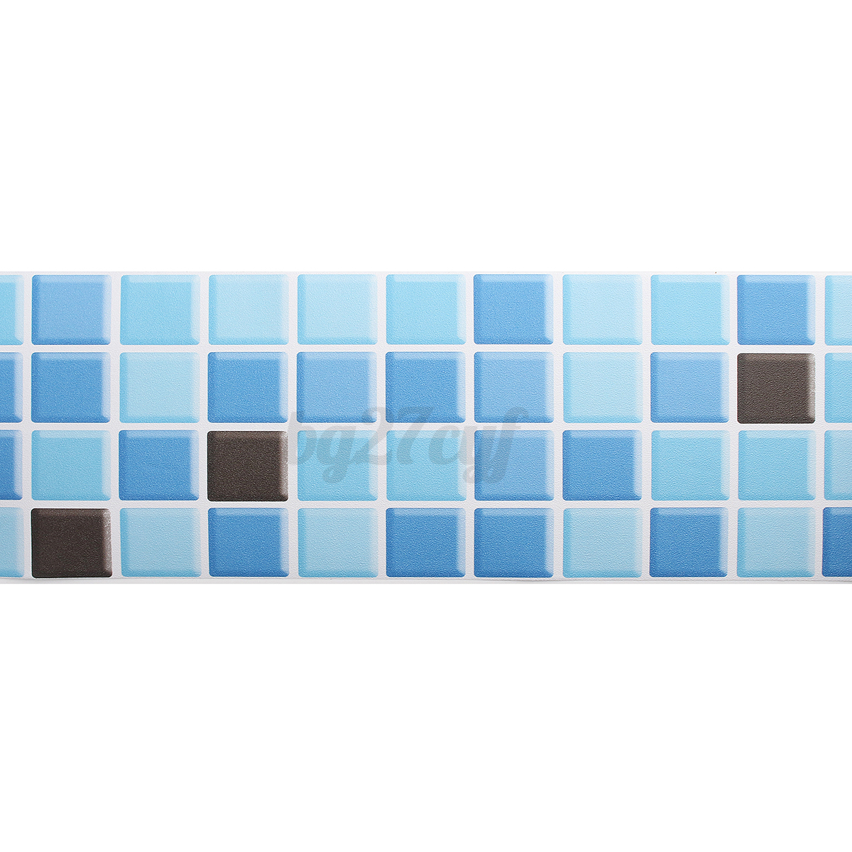 Self Adhesive Waterproof Mosaic Wall Paper Sticker Tile Floor Kitchen Bathroo