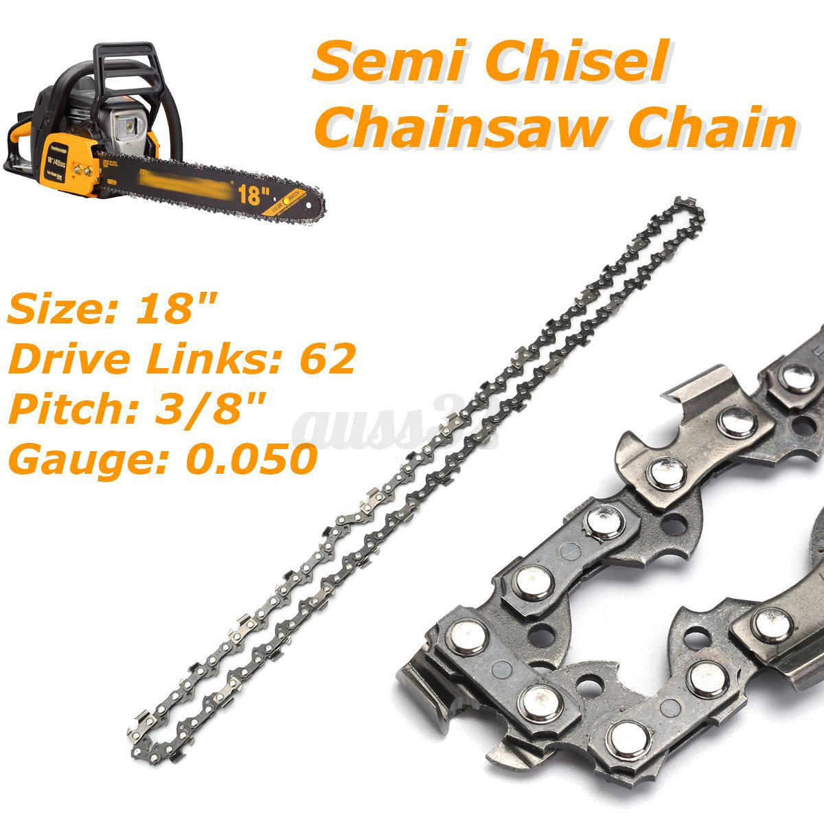 3 8 3 8 Indicator : Dl semi chisel chainsaw chain blade for