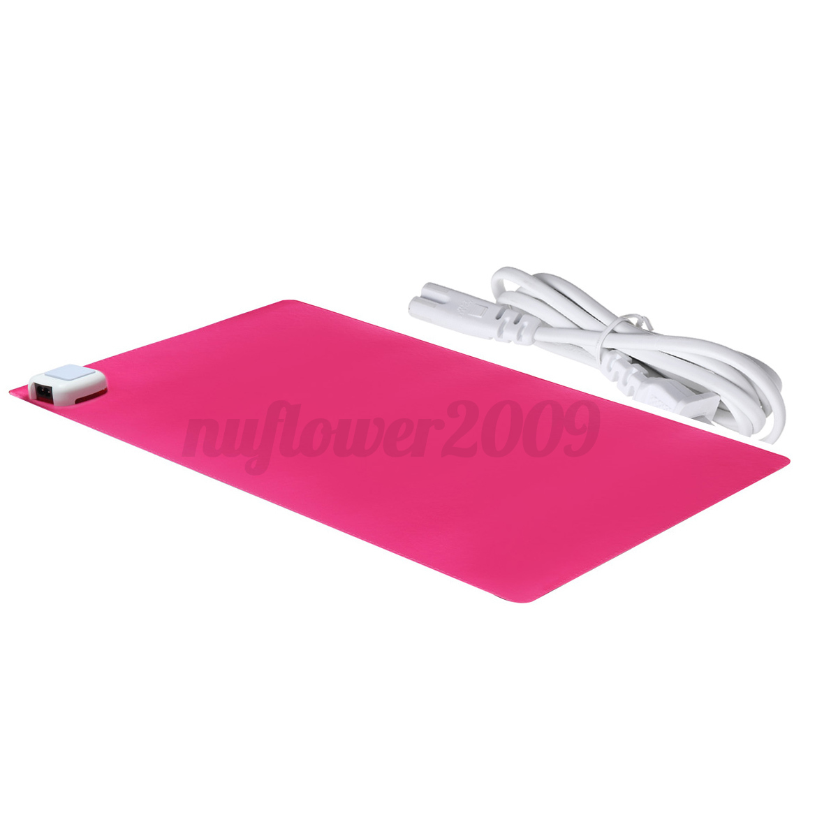 220v Office Home Desk Electric Heated Pad Table Mouse Mat
