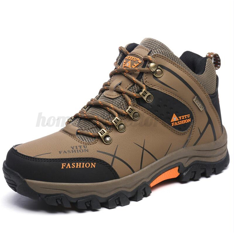 6ad0ed54017 Details about Mens High Top Trail Trekking Hiking Boot Waterproof Athletic  Outdoor Safety Shoe