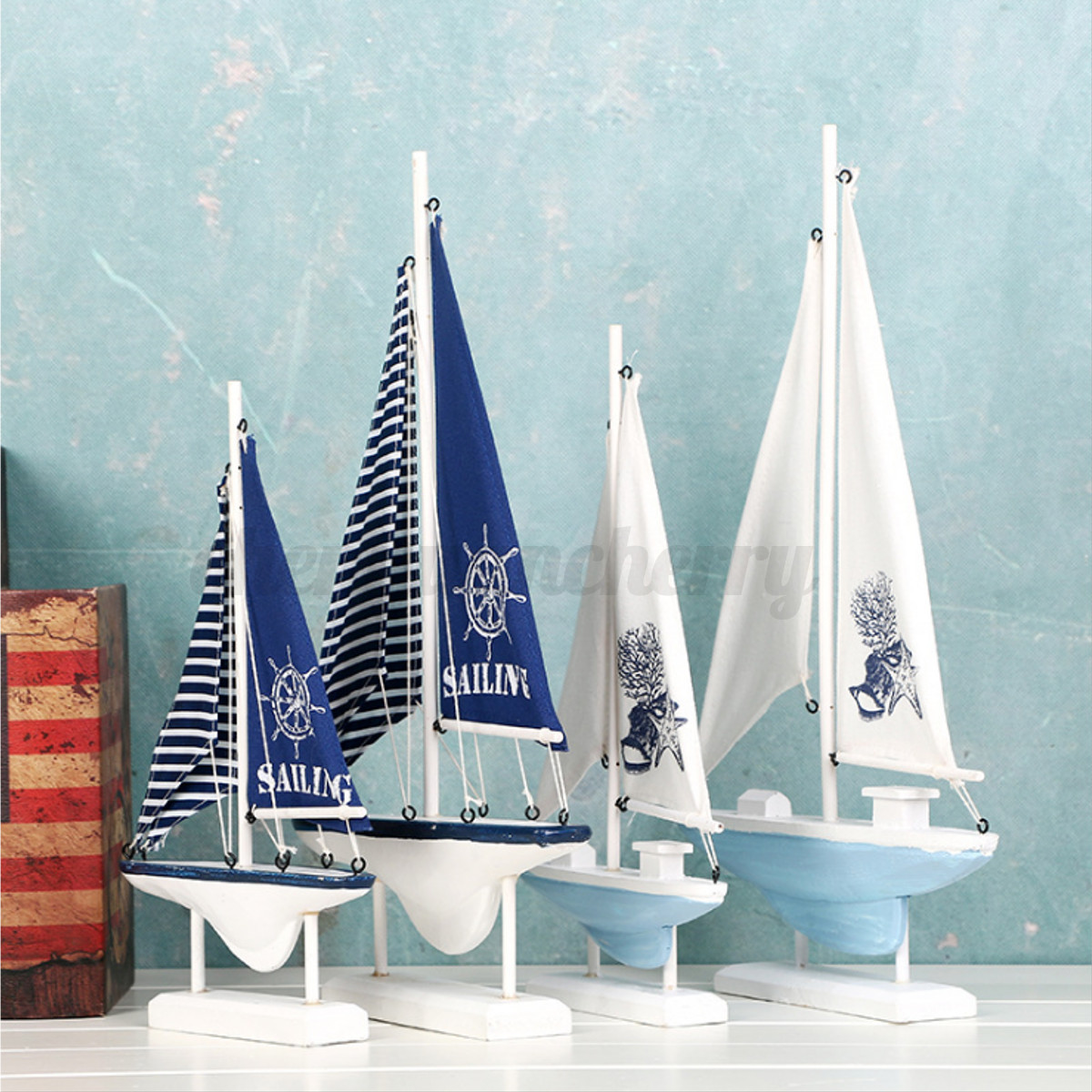 Ship-Assembly-Model-DIY-Kit-Wooden-Sailing-Boat-Decor-Wood-Toy-Gift-Collectables