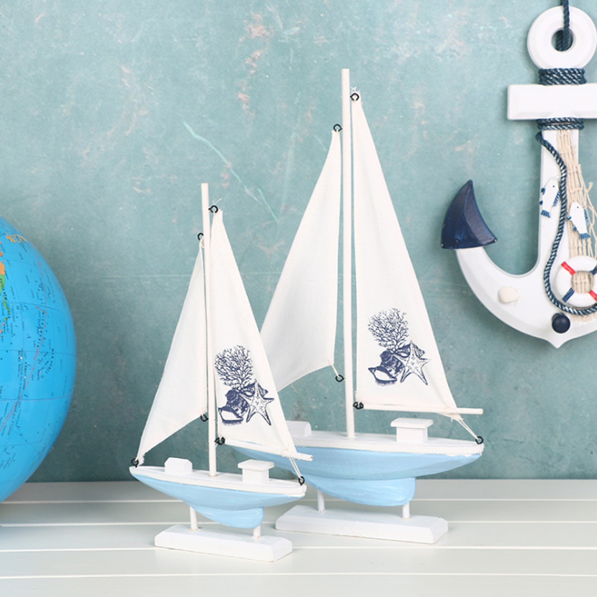 Ship-Assembly-Model-DIY-Kit-Wooden-Sailing-Boat-Decor-Wood-Toy-Gift-Collectables thumbnail 4