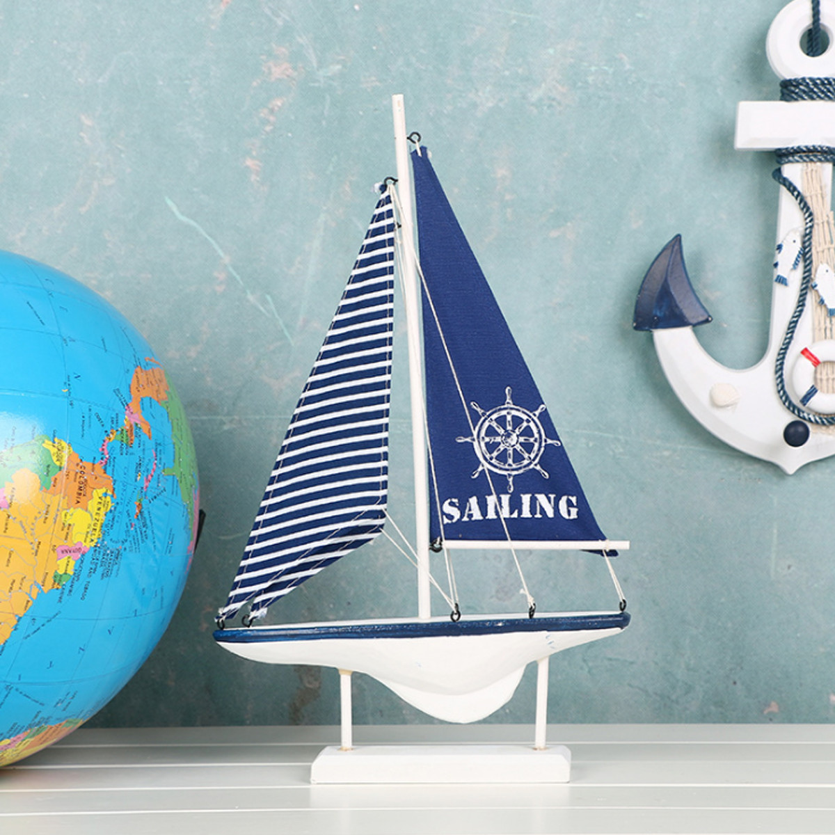 Ship-Assembly-Model-DIY-Kit-Wooden-Sailing-Boat-Decor-Wood-Toy-Gift-Collectables thumbnail 7