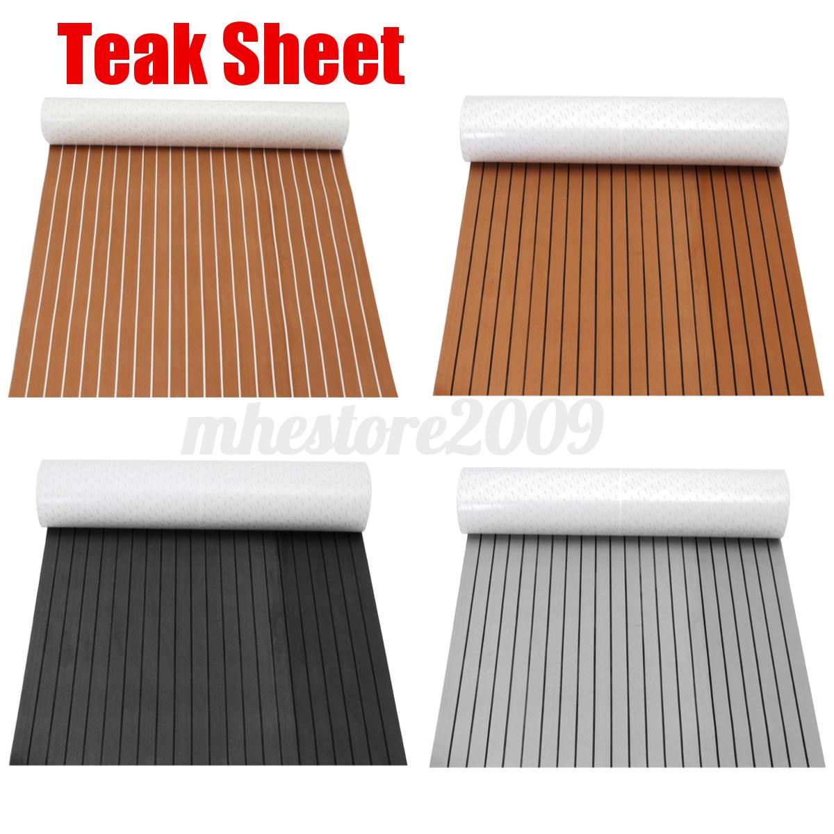 120cmx240cm Boat Decking Teak Eva Foam Marine Sheet Floor