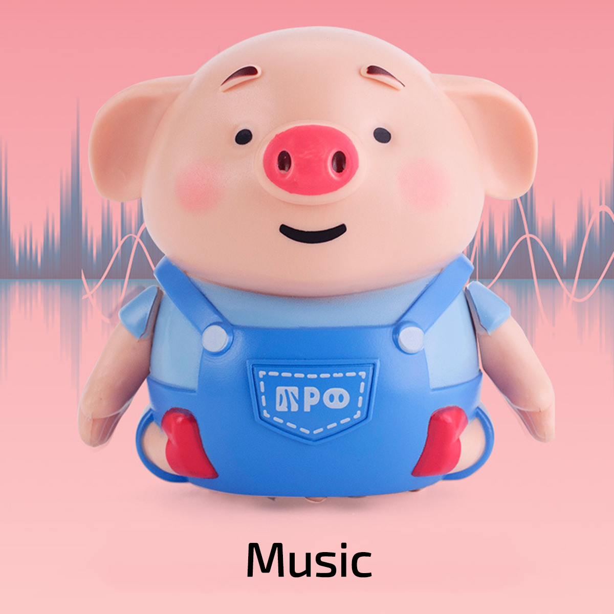 Follow Path Magic Pen Creative Inductive Toy Pig Educational Toy Cute Cmas
