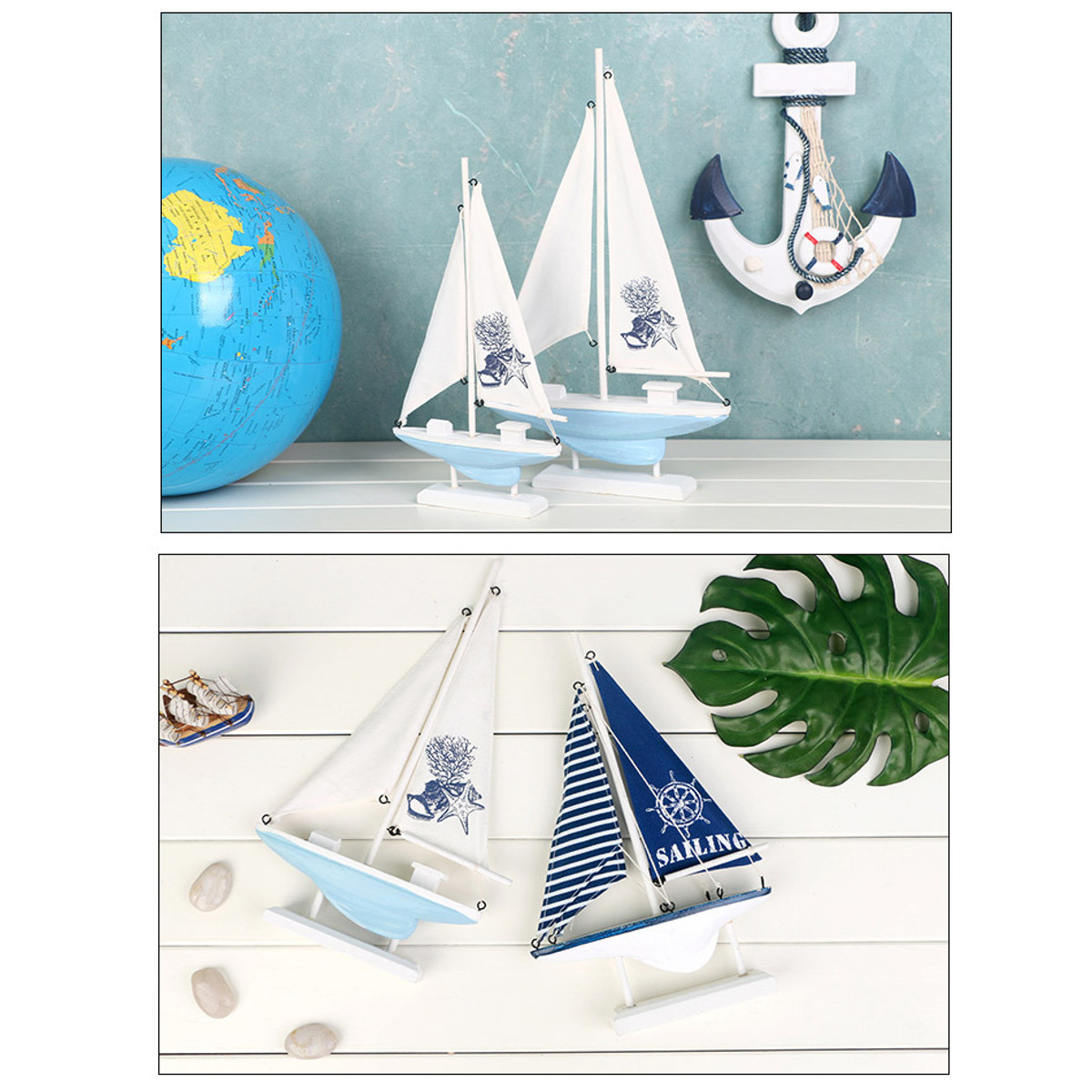 Ship-Assembly-Model-DIY-Kit-Wooden-Sailing-Boat-Decor-Wood-Toy-Gift-Collectables thumbnail 9