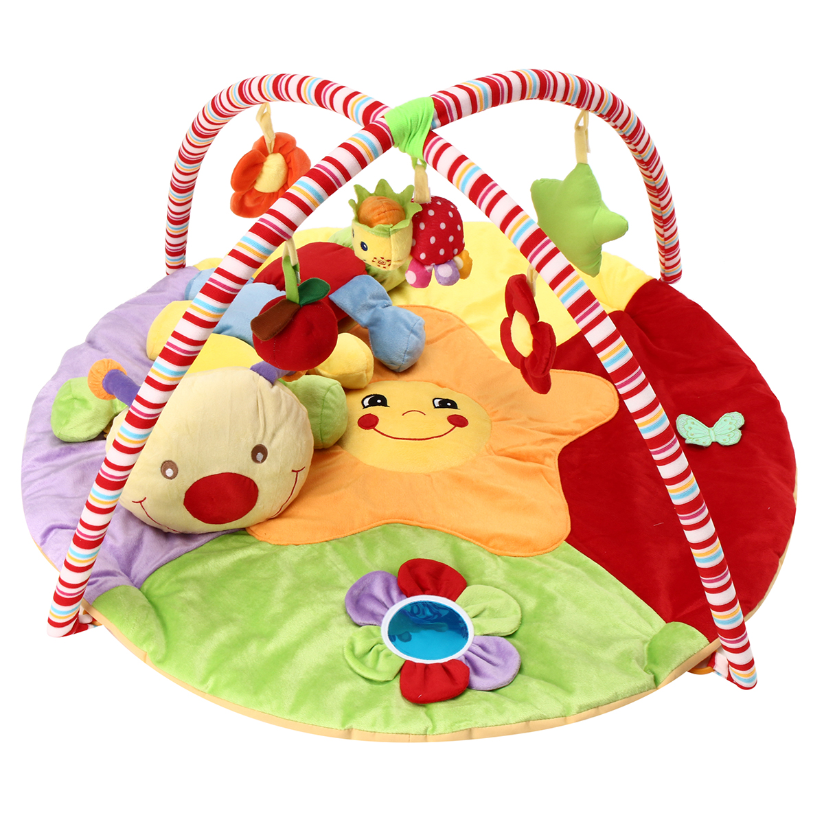 Rainforest Musical Play Soft Mat Activity Play Gym Baby Gift Toy Bedroom Decor !
