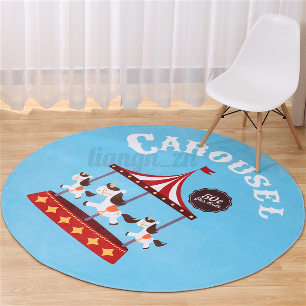 Tapis antid rapant carpette rond douche salle chambre for Tapis chambre a coucher