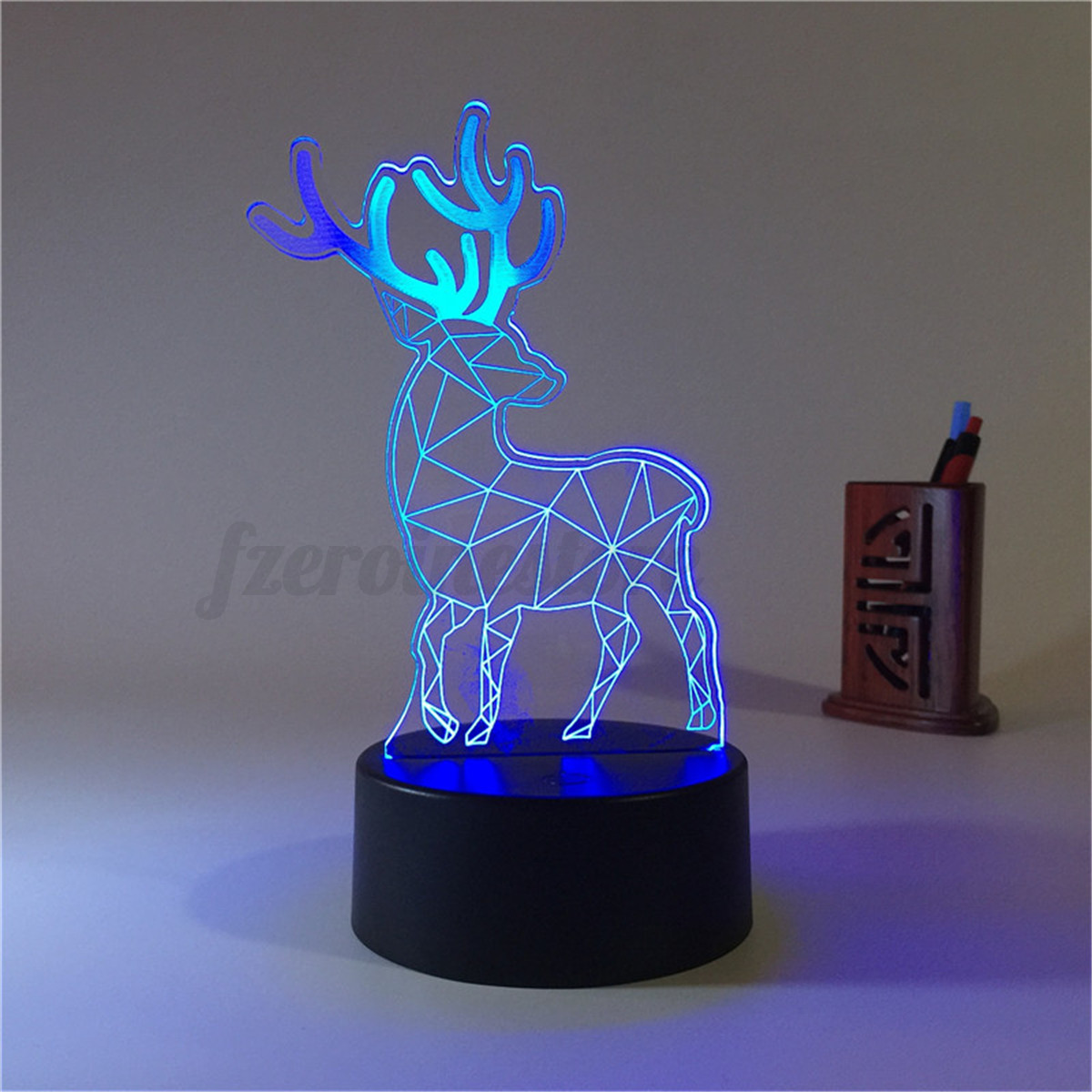 3d Panel Acrylic Usb Color Changing Led Night Light