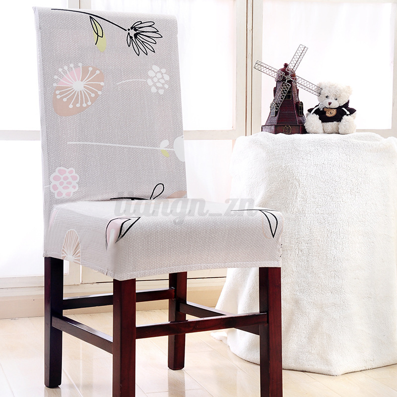 11-Patterns-Removable-Stretch-Home-Dining-Chair-Covers-Wedding-Banquet-Slipcover thumbnail 14
