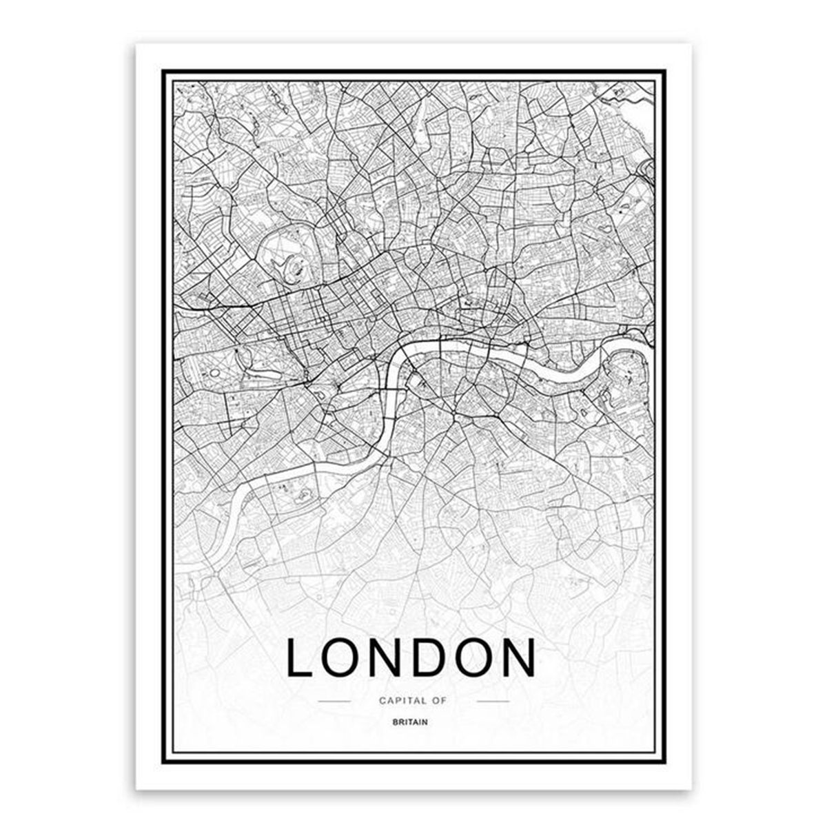 World city map abstract poster nordic art prints canvas painting world city map abstract poster nordic art prints gumiabroncs Images