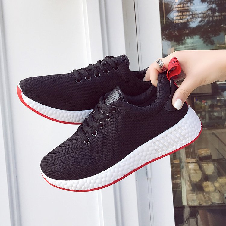 2018 Fashion New Women's Sneakers Sport Breathable Casual ...