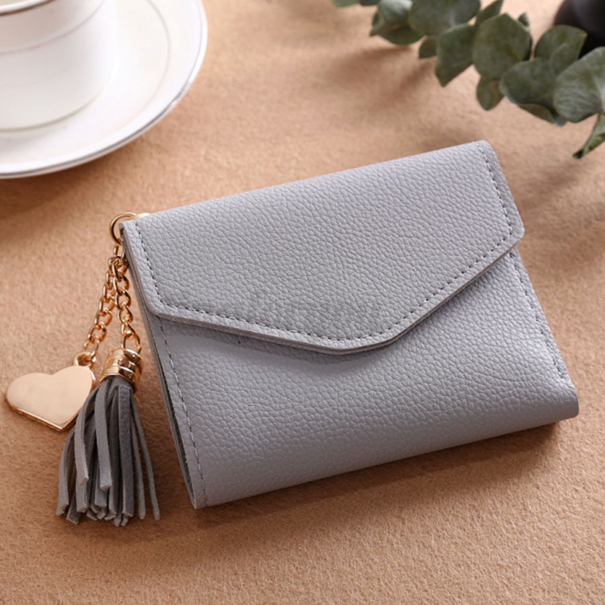 Women Small Mini Wallet Card Holder Lady Clutch Coin Purse ...
