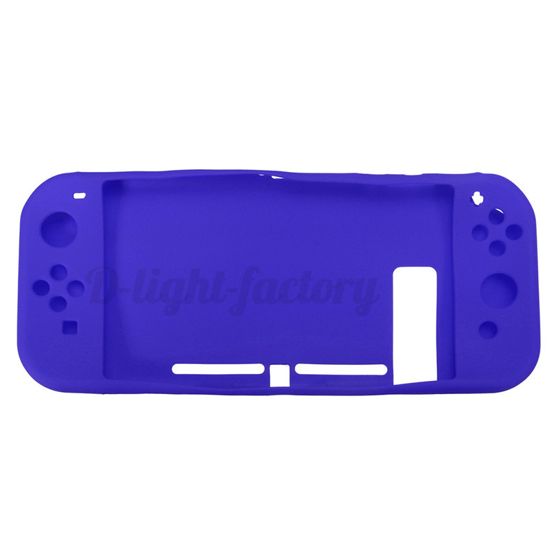 for nintendo switch controller handle silicone protecter protective case cover ebay. Black Bedroom Furniture Sets. Home Design Ideas