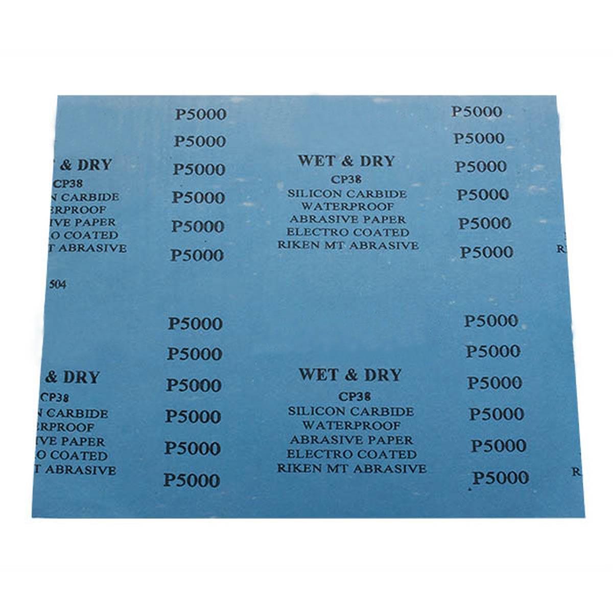humide sec feuille papier de verre abrasif polissage pon age grit 1000 7000 ebay. Black Bedroom Furniture Sets. Home Design Ideas