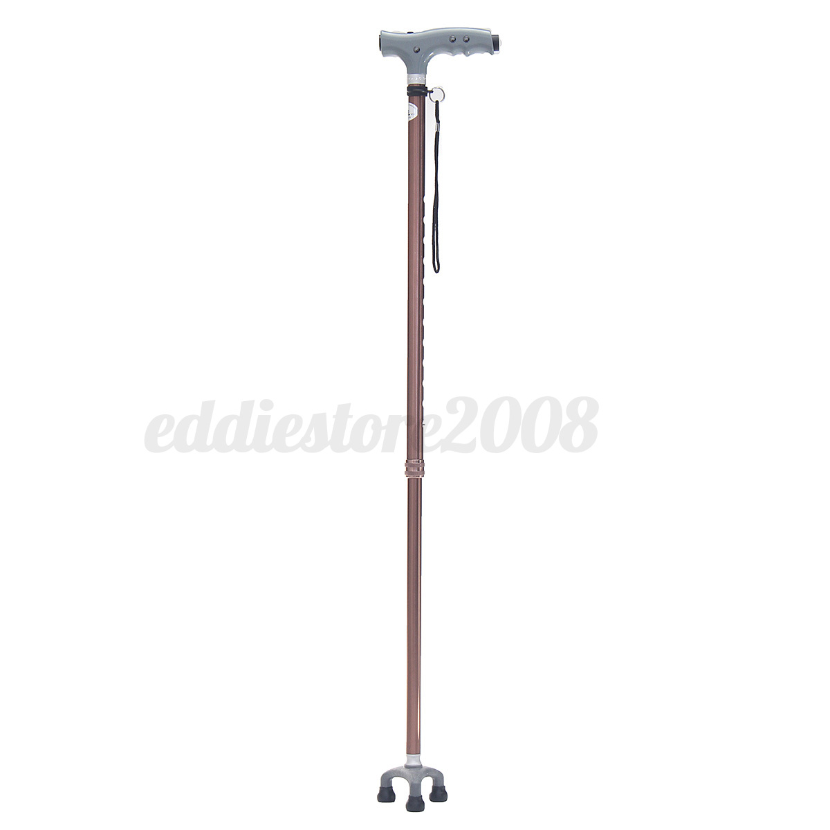 Adjustable tripod cane ctrutch led anti shock portable - Antishock porta ...