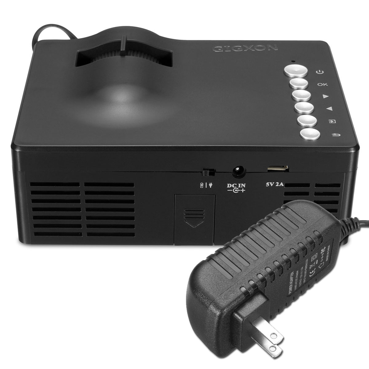 Micro mini portable full hd 1080p home theater led for Micro mini projector