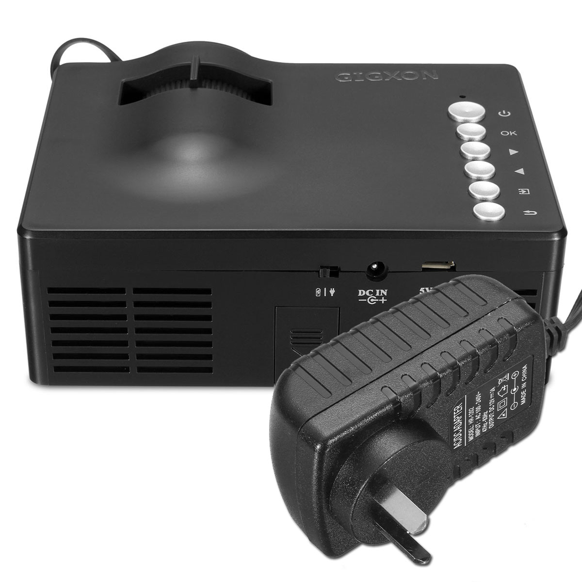Mini 1080p Full Hd Led Projector Home Theater Cinema 3d: Micro Mini Portable Full HD 1080P Home Theater LED