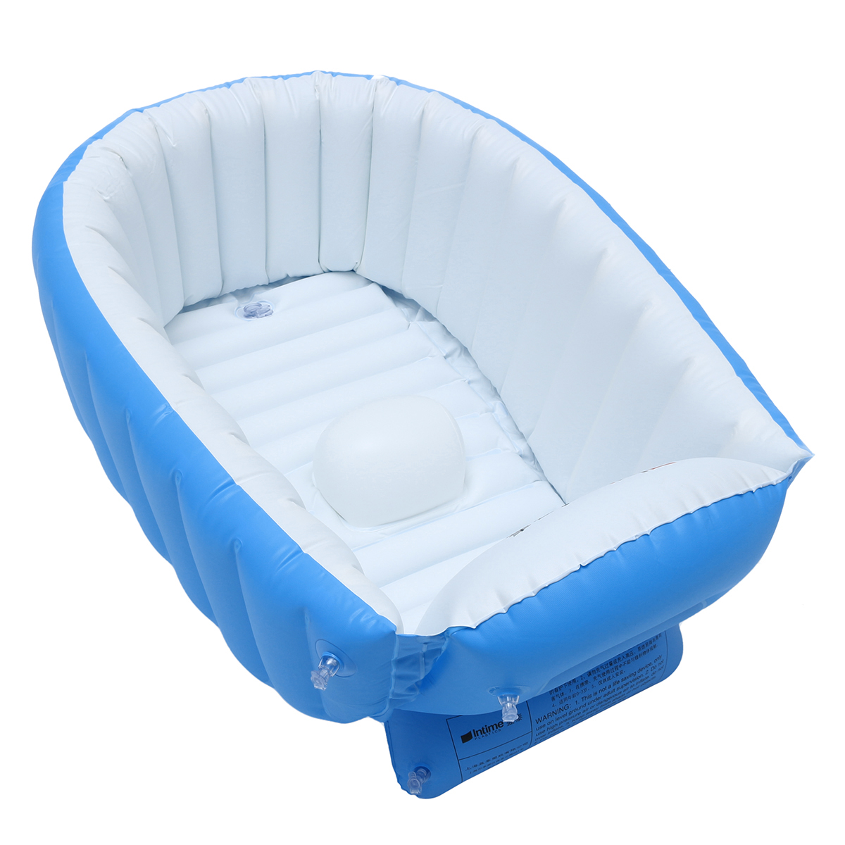 Details about New Baby Kids Toddler Inflatable Bathtub Newborn Thick Bath Tub Summer Portable