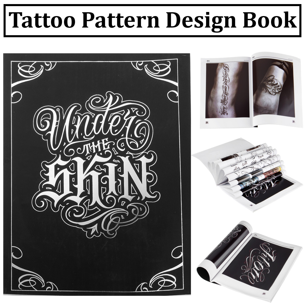 Details About Chicano Calligraphy Font Lettering Tattoo Book Writing Design Pattern Us