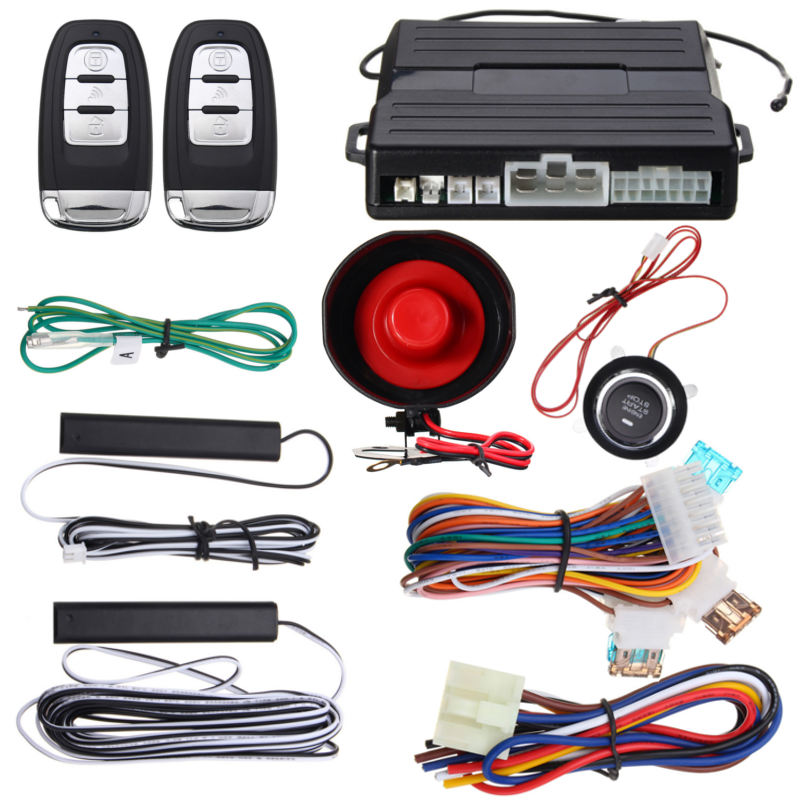 Universal Car Alarm Vehicle System Keyless Entry Remote
