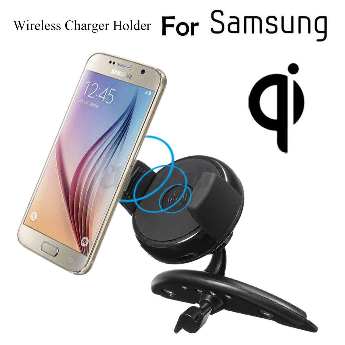 Shipping: Between samsung qi wireless charging car holder and charger black 6 LimitsExclusions Purchase