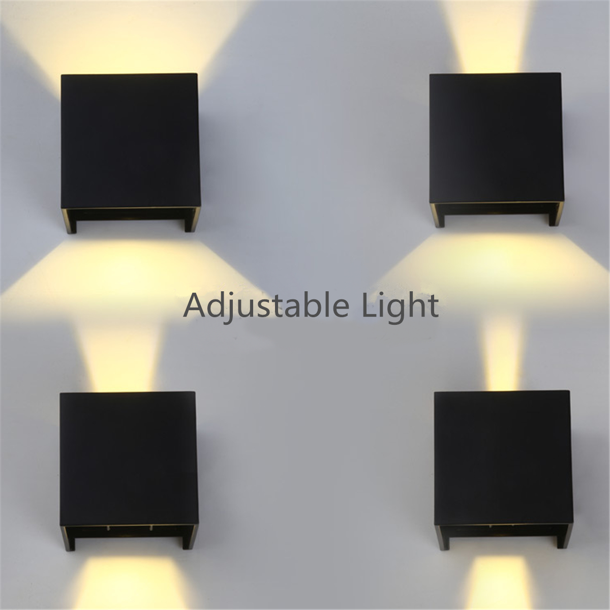 Modern led lighting Chandelier Details About New 7w Modern Led Wall Light Up Down Cube Indoor Outdoor Sconce Lighting Lamp Living Room Ideas New 7w Modern Led Wall Light Up Down Cube Indoor Outdoor Sconce