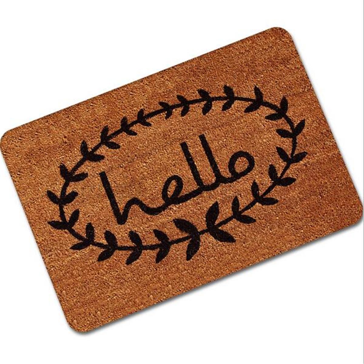 Letter Funny Welcome Home Entrance Floor Rug Non Slip