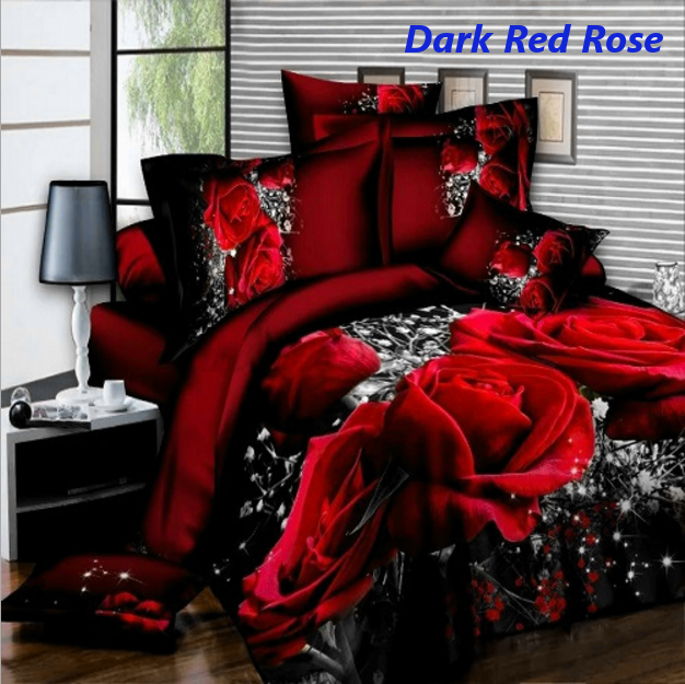4Pcs-Printed-3D-Bedding-Set-Queen-Size-Quilt-Cover-Bed-Sheet-Pillowcases-Textile