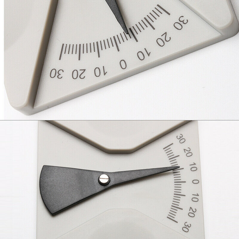 2pcs Brillen Winkel Zollstock Abmessen Werkzeug Winkelmesser Pantoscopic Meter Ebay