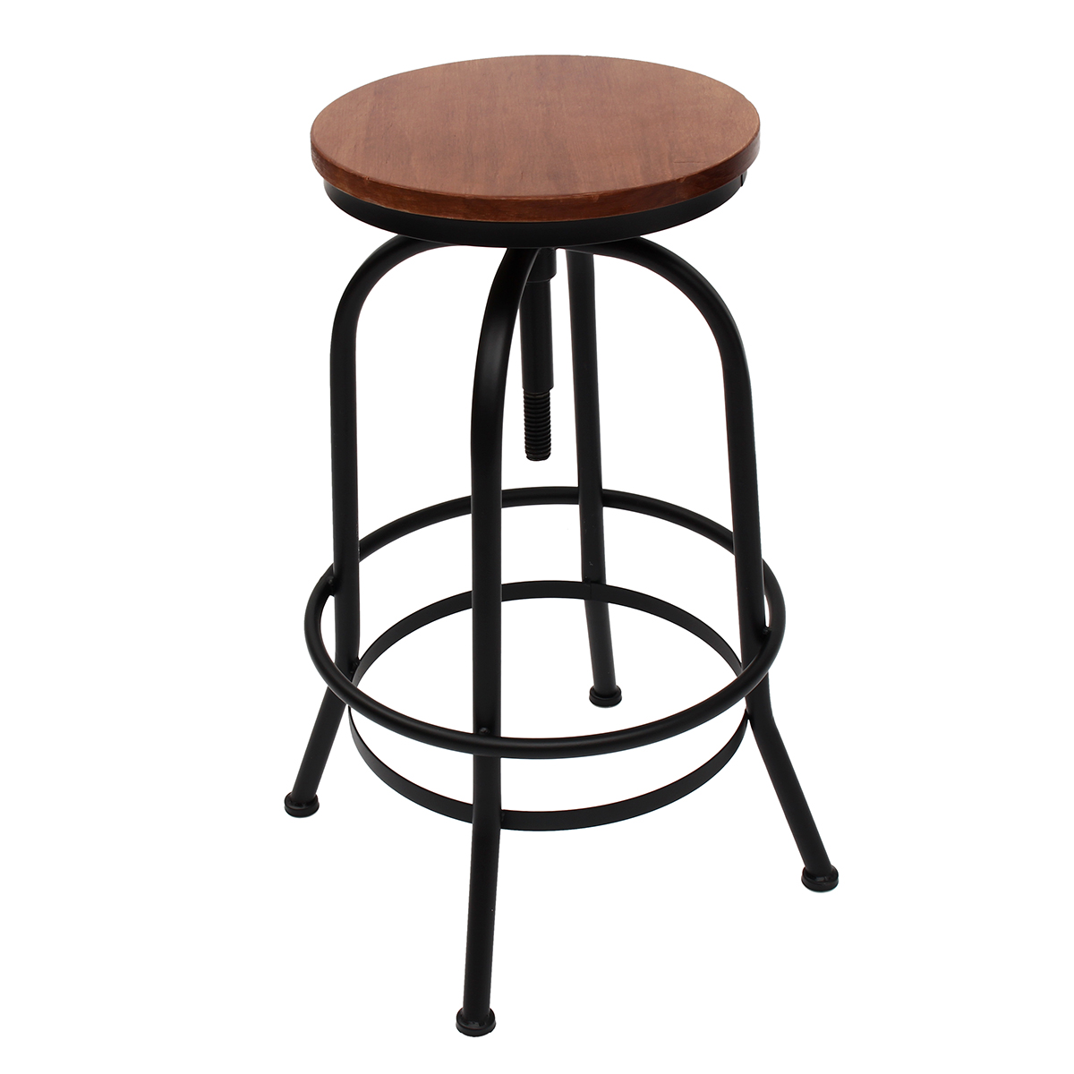 Vintage Urban Bar Stool Industrial Retro Adjustable Height