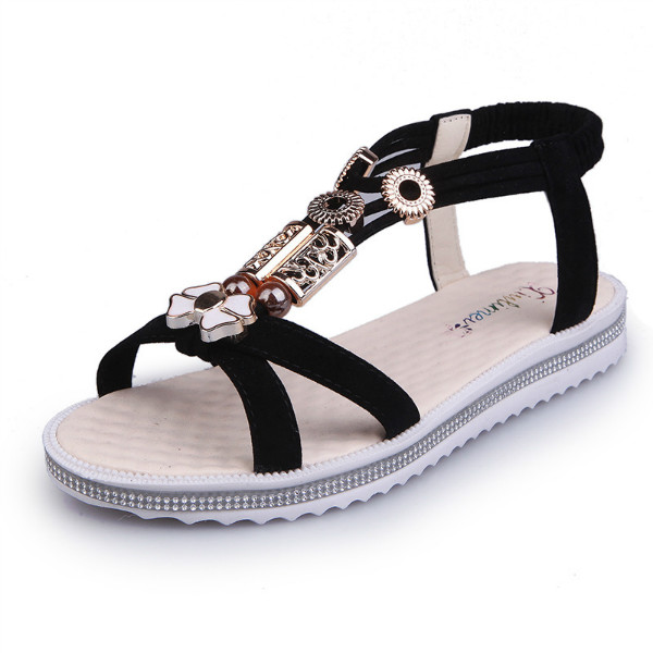 Women-Mid-Heel-Block-Sandals-Peep-Toe-Casual-Hollow-Out-Slingbacks-Zipper-Shoes