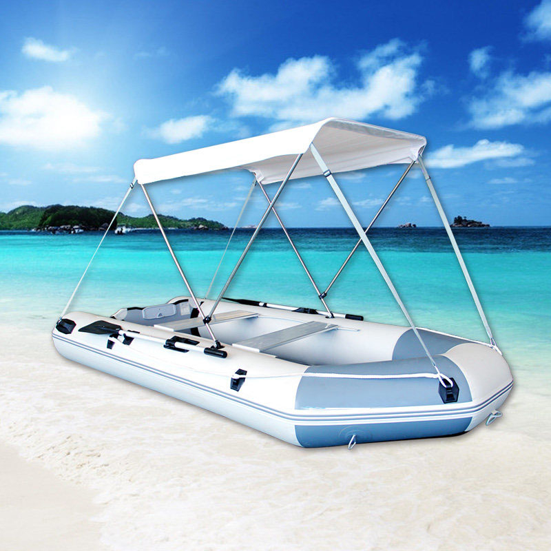 Sun Shelter Fishing Tent For 2 Person Boat Inflatable Boat