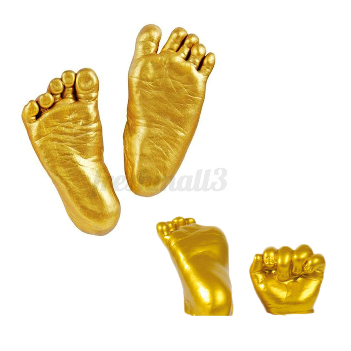 3d Plaster Handprints Footprints Baby Kids Adult Hand Foot