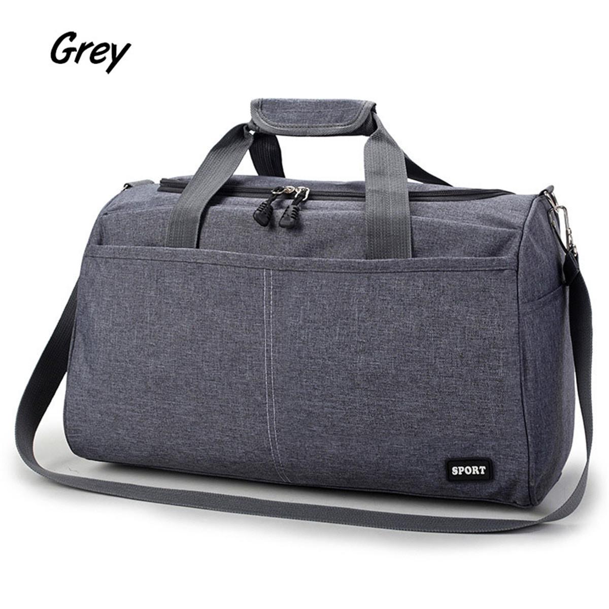 Women Men Nylon Travel Duffel Bag Weekender Gym Bag Sport Holdall ... 759fb578f37af